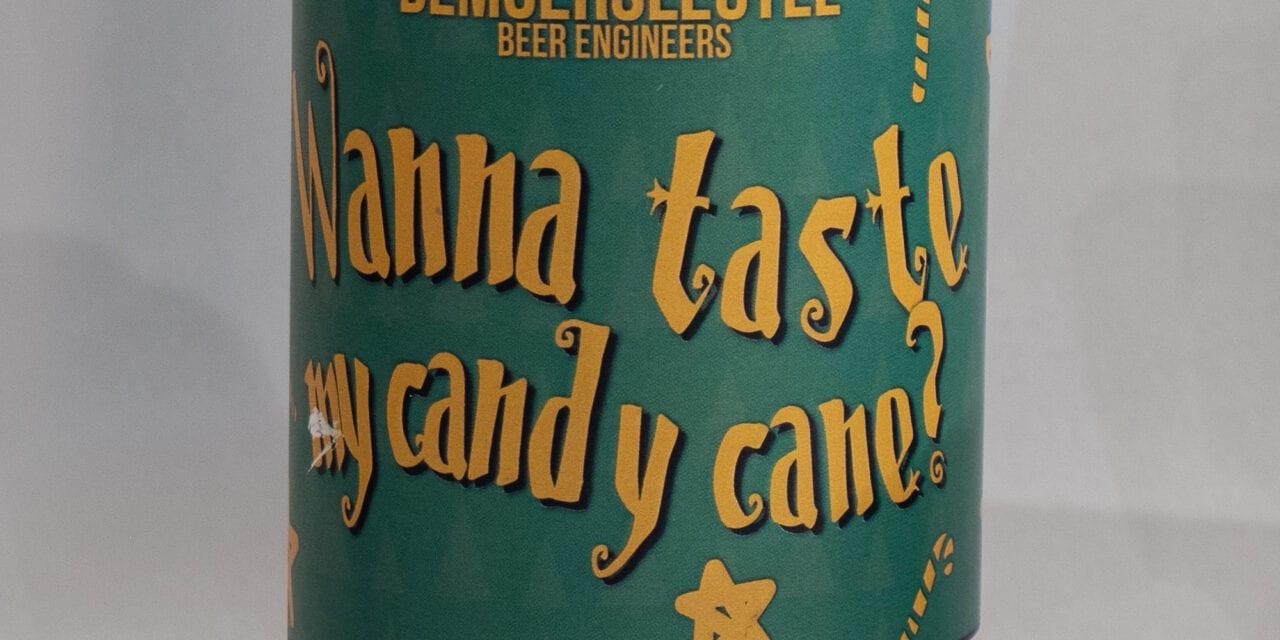 """De Moersleutel Beer """"Wanna taste my candy cane"""""""