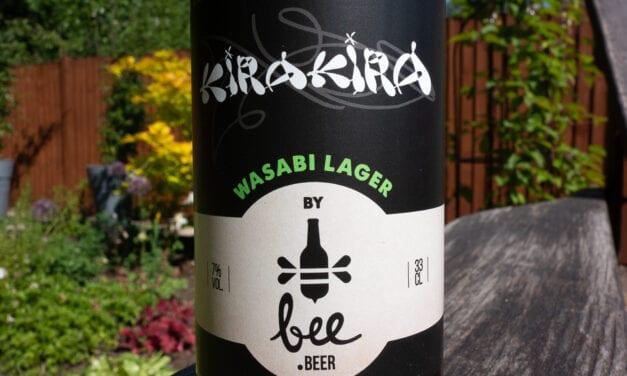 Bee Beer – KiraKira Wasabi Lager