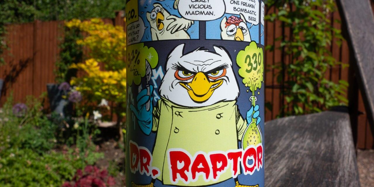 Uiltje Brewing – Doctor Raptor Imperial IPA